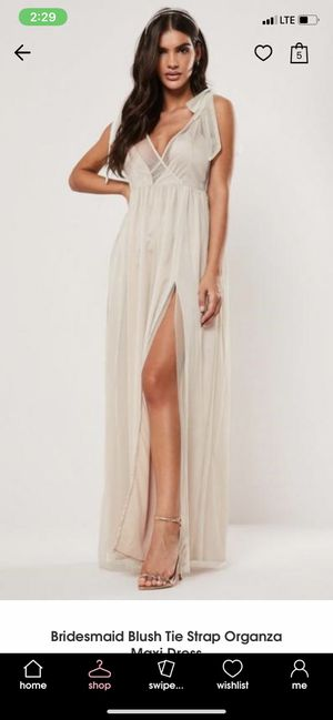 Missguided Maxi dress-SIZE 6 for Sale in Miami, FL