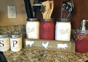 Mason jar decor set for Sale in Smyrna, TN