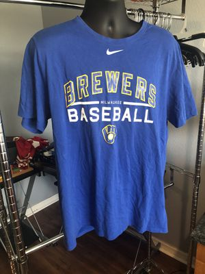 Nike Milwaukee Wisconsin Brewers baseball tee for Sale in Ruskin, FL