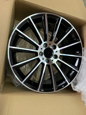 "Mercedes 18"" new amg style rims tires set for Sale in Hayward, CA"