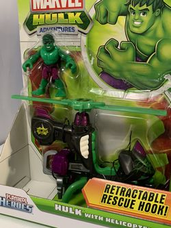 Playskool Hulk With Helicopter Toy for Sale in Reston,  VA