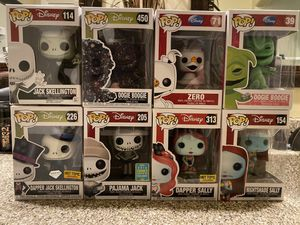 Nightmare Before Christmas Funko Pops for Sale in San Bernardino, CA