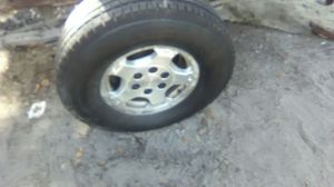 2002 Silverado 4x4 tires and rims for Sale in Leesburg, FL