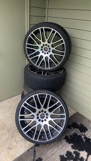 Wheels and tires for Sale in Lynnwood, WA