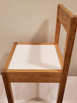 Lightweight Wood Chair for Child - firm price. for Sale in Arlington,  VA