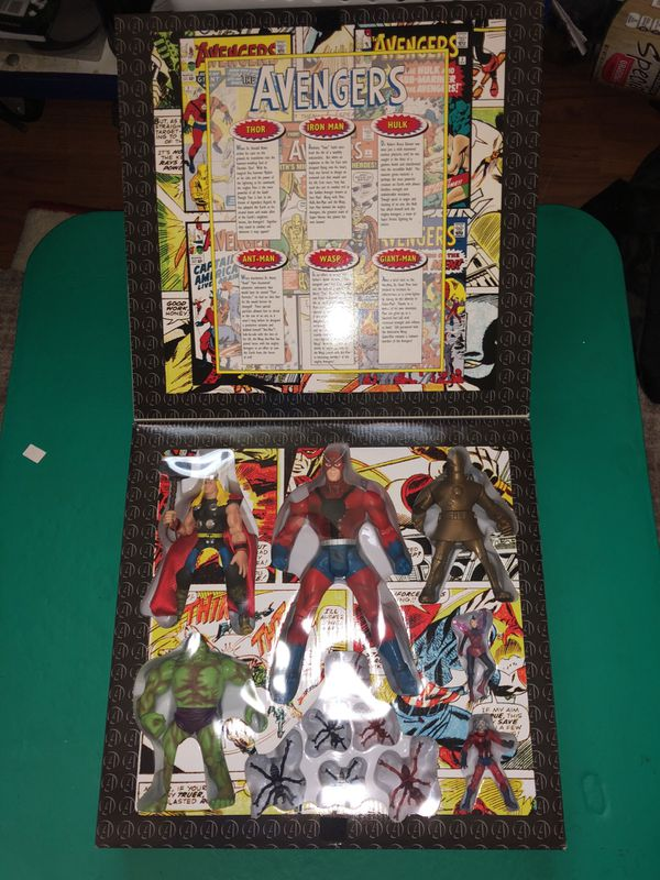 The Avengers Toy Biz collection box
