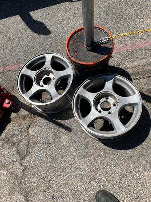 Stock 03 mustang wheels (All 4) for Sale in Odessa, TX