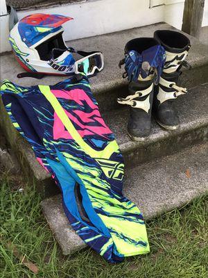 Dirt bike gear for Sale in Ellabell, GA