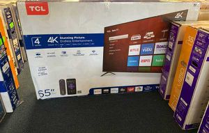 """NEW TCL 655421 65"""" television open box QC M for Sale in Plano, TX"""