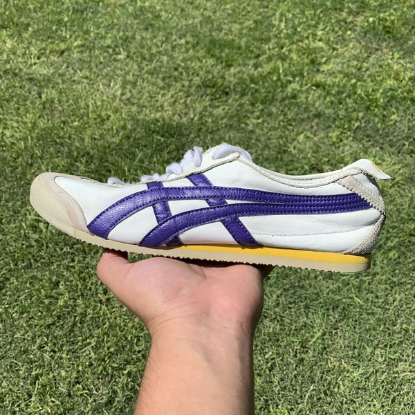 Asics onitsuka tiger Mexico 66 white and purple sneakers