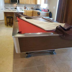 Pool Table Red Full Size for Sale in Hemet, CA