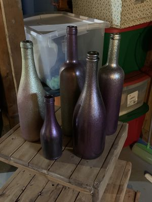 Rose Gold Wine Bottles for Sale in Brunswick, OH