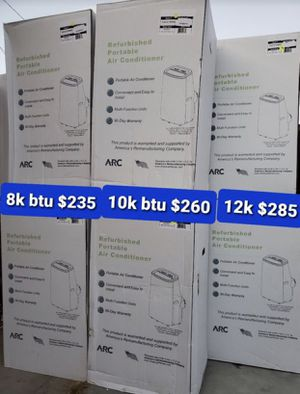 Air conditioner 8kbtu. 10kbtu. 12kbtu for Sale in Anaheim, CA