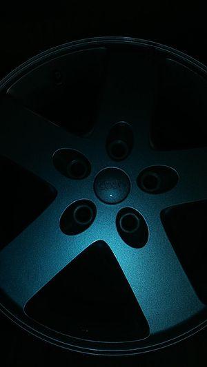 Jeep wranger wheels set 4 oem wheels 5x5 for Sale in Pompano Beach, FL