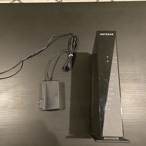 NETGEAR - Dual-Band AC1750 Router with 16 x 4 DOCSIS 3.0 Cable Modem - Black for Sale in Pleasanton, CA