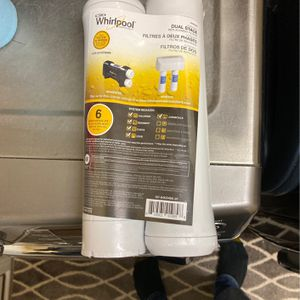 Whirlpool Dual Stage Filters for Sale in Charlotte, NC