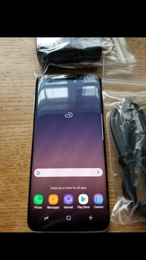 SAMSUNG Galaxy S8, Unlocked, Excellent Condition, Useable with any Carrier SIM in USA and internationally. for Sale in Springfield, VA