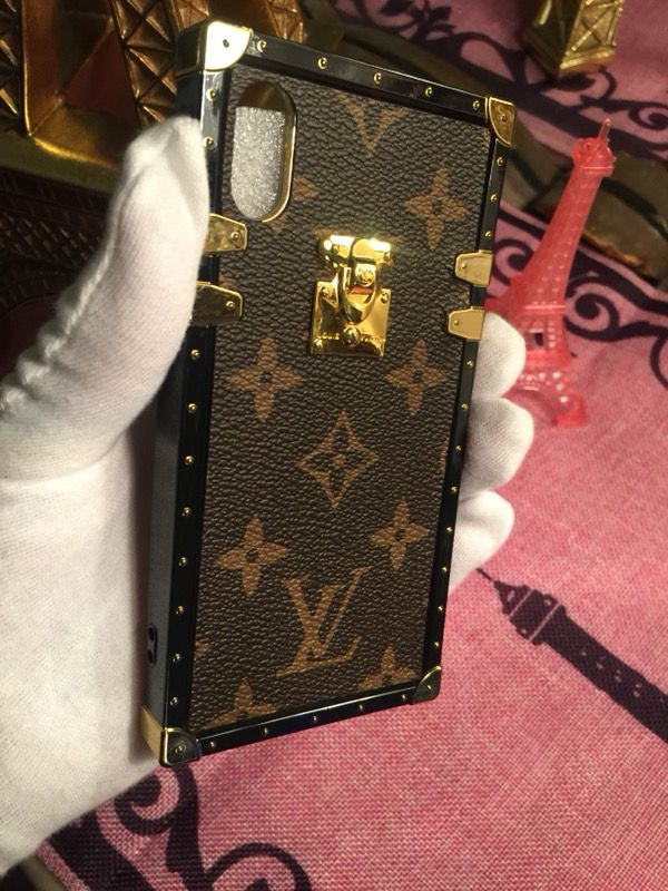 newest 23cb8 06775 Louis Vuitton Eye Trunk Case IPhone X for Sale in Santa Ana, CA - OfferUp