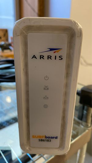 Arris SB6183 internet modem for spectrum like new for Sale in Staten Island, NY