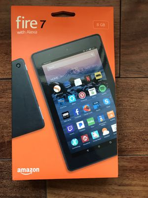 Black amazon Fire 7 Tablet (7th generation) with Alexa, 8gb for Sale in Chula Vista, CA