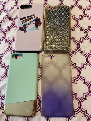 iPhone 7&8 plus phone cases for Sale in York, PA
