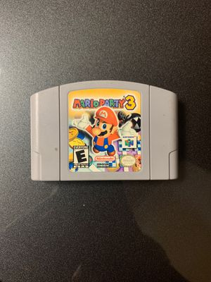 Mario Party 3 for Nintendo 64 for Sale in Oceanside, CA