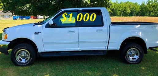 🟢💲1,OOO I m selling URGENTLY this Beautiful💚2OO2 Ford F15O nice Family truck XLT Super Crew Cab 4-Door Runs and drives very smoothly💪🟢 for Sale in Orlando,  FL