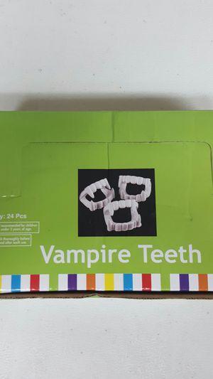 24 vampire teeth for halloween. Brand new for Sale in Viborg, SD