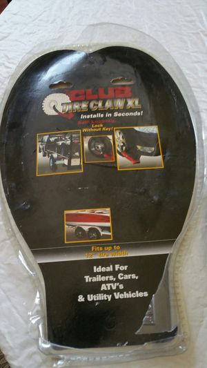 Club Tire Claw security device..$45 for Sale in Roseville, CA