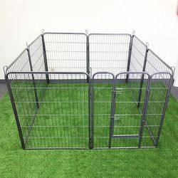 "(New In Box) $110 Heavy Duty 40"" Tall x 32"" Wide x 8-Panel Pet Playpen Dog Crate Kennel Exercise Cage Fence Play Pen for Sale in La Habra Heights,  CA"