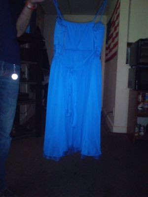 Blue women's drrss for Sale in Williamstown, WV