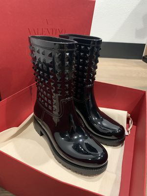 Valentino Rockstud rain boots for Sale in Carlsbad, CA