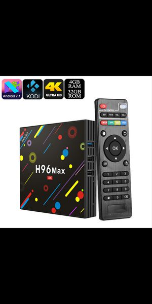 Android box TV H96Max for Sale in Lancaster, PA
