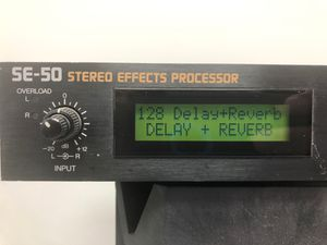 Boss SE-50 Stereo Effects Processor for Studio / Live / Vocals / Guitar / Keyboard pro audio for Sale in Arlington, TX