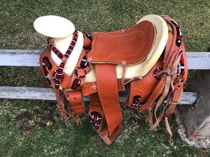 "15"" Mexican Charro Horse Saddle Montura para caballos for Sale in Tustin, CA"
