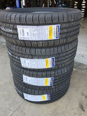 BRAND NEW SET OF GOODYEAR TIRES 215/60/16 for Sale in Fontana, CA
