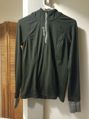 Reebok sweatshirt with hood and long sleeves with thumb holes for Sale in NJ, US