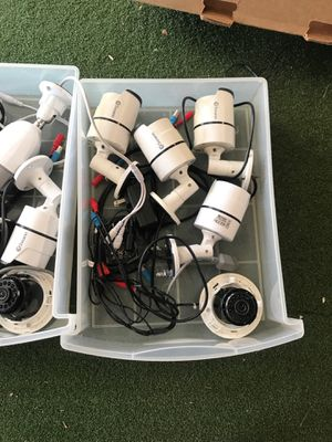 Box full of Digital Surveillance cameras (Best offer takes all). for Sale in La Mesa, CA