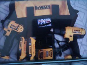 DeWalt 20 v Max combo kit for Sale in Las Vegas, NV