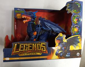 Untamed Legends Dragon VULCAN Interactive Figure NEW!! for Sale in Fort Lauderdale, FL