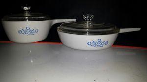 Corningware Cornflower menuette pans for Sale in Indianapolis, IN