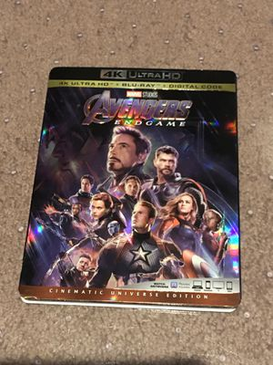Avengers Endgame 4k Bluray complete for Sale in Pasadena, CA