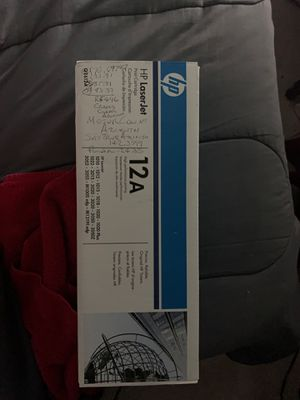 HP Laser Jet Print Cartridge. 12AQ2612A for Sale in Anderson, SC