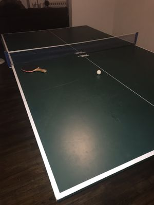 """Imperial international """"Eliminator"""" 8ft cloth pool table with ping pong overlay for Sale in North Versailles, PA"""