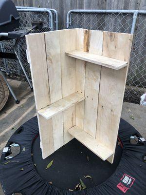Repurposed corner shelf for Sale in Austin, TX