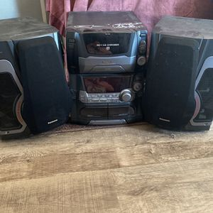 Panasonic Stereo & Speaker System With Super Woofer for Sale in Vista, CA