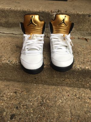 "Jordan retro 5s ""olympic gold"" OG size 9 for Sale in Takoma Park, MD"