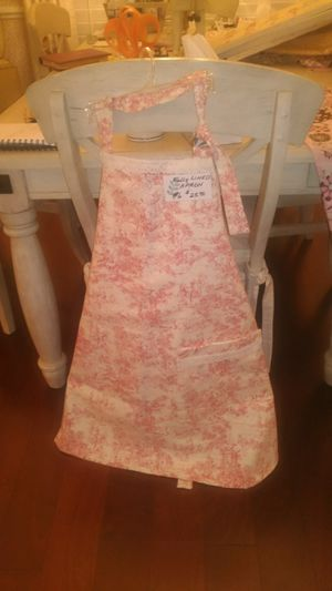 Toile fabric and Waverly custom made apron for Sale in Murrells Inlet, SC