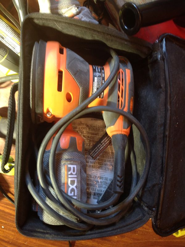 Ridgid corded orbital sander! Only $20