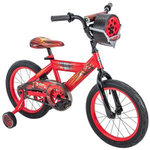 "Huffy 16"" Disney / Pixar Cars Lightning McQueen EZ Build Kids Bike with Sounds, Red for Sale in Houston, TX"